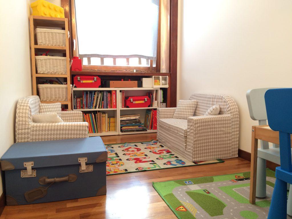 Studio legale Bianchini Jesurum, lo spazio giochi messo a disposizione dei bambini