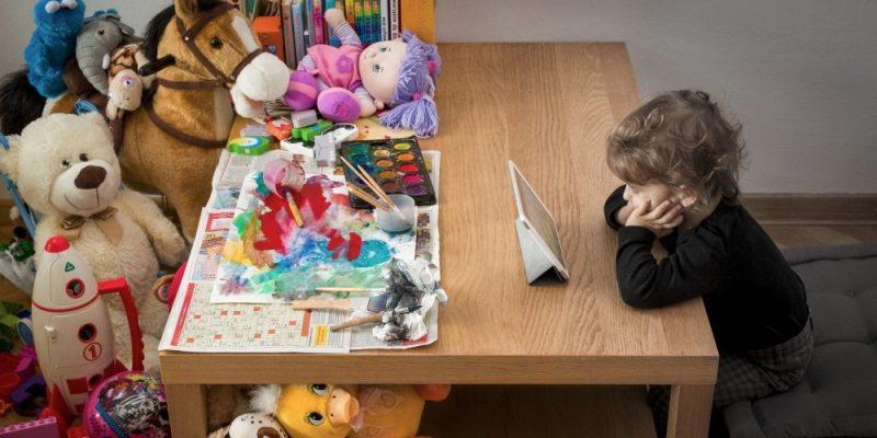 Le app sono sempre più diffuse anche fra i bambini che le preferiscono ai giocattoli